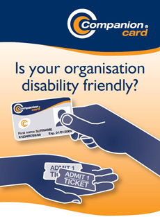 Companion Card : Is your organisation disability friendly