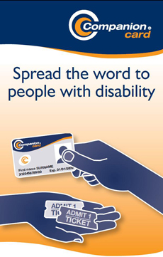 Companion Card : Spread the world to people with disability
